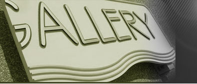 CNC channel cut signs by Sign Design and Fabrication